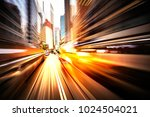 abstract motion blur image of... | Shutterstock . vector #1024504021