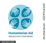 hand care concept logo icon | Shutterstock .eps vector #1024516165