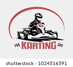 karting race vector symbol ... | Shutterstock .eps vector #1024516591