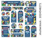 soccer game tournament or... | Shutterstock .eps vector #1024548271