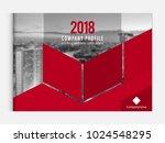 business brochure cover design... | Shutterstock .eps vector #1024548295