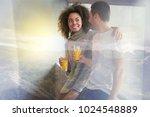 happy relationships. attractive ... | Shutterstock . vector #1024548889
