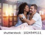 i love you. positive happy... | Shutterstock . vector #1024549111