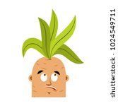 mandrake root confused oops... | Shutterstock .eps vector #1024549711
