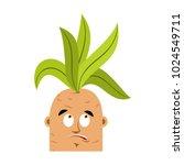 mandrake root confused oops... | Shutterstock .eps vector #1024549711