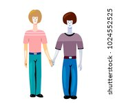 one of three illustrations on... | Shutterstock . vector #1024552525