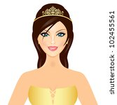 Vector Illustration Of Queen