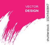 vector abstract white and pink... | Shutterstock .eps vector #1024560847