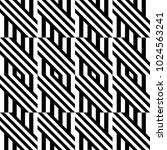 seamless pattern with black... | Shutterstock .eps vector #1024563241