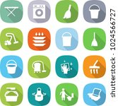 flat vector icon set   iron... | Shutterstock .eps vector #1024566727