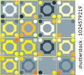 colorful mosaic background with ... | Shutterstock .eps vector #1024579219