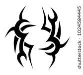 tattoo tribal vector design. | Shutterstock .eps vector #1024584445