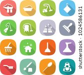 flat vector icon set   factory... | Shutterstock .eps vector #1024586131