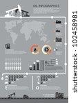 set of infographics elements ... | Shutterstock .eps vector #102458981