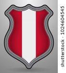 flag of austria. vector badge... | Shutterstock .eps vector #1024604545