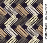 seamless geometric pattern.... | Shutterstock .eps vector #1024624045