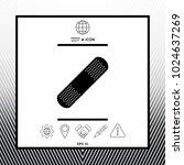 medical  plaster  adhesive... | Shutterstock .eps vector #1024637269