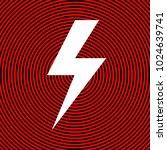 lightning flat icons set....   Shutterstock .eps vector #1024639741