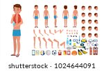 man in swimsuit. animated male... | Shutterstock . vector #1024644091