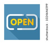 open vector icon. e commerce...