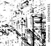urban grain dust cover stroke... | Shutterstock .eps vector #1024654651