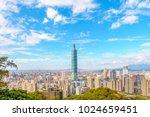 Small photo of panoramic view of taipei city, taiwan