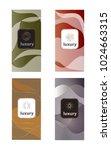luxury packaging design set... | Shutterstock .eps vector #1024663315
