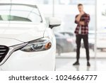 selective focus on a car male... | Shutterstock . vector #1024666777