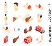 transplantation decorative... | Shutterstock .eps vector #1024669447