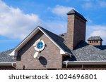 asphalt shingle. decorative... | Shutterstock . vector #1024696801