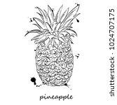 vector abstract illustration of ... | Shutterstock .eps vector #1024707175