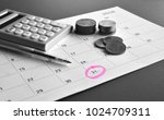 accountant verify and review... | Shutterstock . vector #1024709311