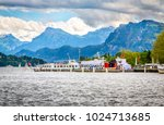 view of lake lucerne in summer... | Shutterstock . vector #1024713685