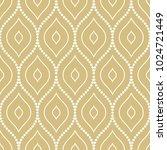 seamless golden ornament....   Shutterstock . vector #1024721449