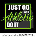 athletic. t shirt graphics.  | Shutterstock .eps vector #1024722391