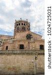 church in the orense region ...   Shutterstock . vector #1024725031