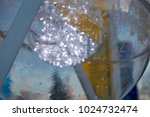 light illumination in the park. ... | Shutterstock . vector #1024732474