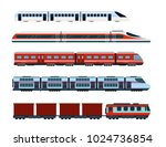 vector illustration set of... | Shutterstock .eps vector #1024736854