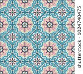 fashionable pattern in the arab ...   Shutterstock .eps vector #1024740475