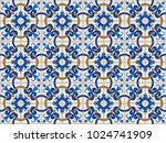 fashionable pattern in the arab ...   Shutterstock .eps vector #1024741909