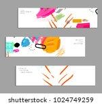 abstract universal art web... | Shutterstock .eps vector #1024749259