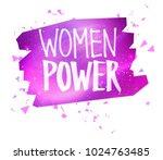vector illustration of women... | Shutterstock .eps vector #1024763485