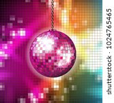 pixilated abstract background...   Shutterstock .eps vector #1024765465