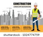 business engineer and worker ... | Shutterstock .eps vector #1024774759
