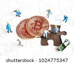 selective focus image of... | Shutterstock . vector #1024775347
