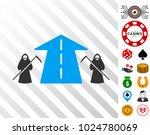 scytheman future road... | Shutterstock .eps vector #1024780069