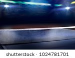 ping pong table tennis... | Shutterstock . vector #1024781701