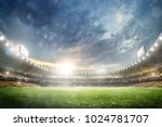 grand multisport arena... | Shutterstock . vector #1024781707