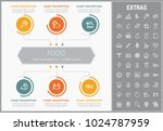 food infographic template ... | Shutterstock .eps vector #1024787959