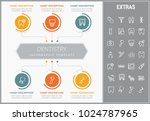 dentistry infographic template  ... | Shutterstock .eps vector #1024787965